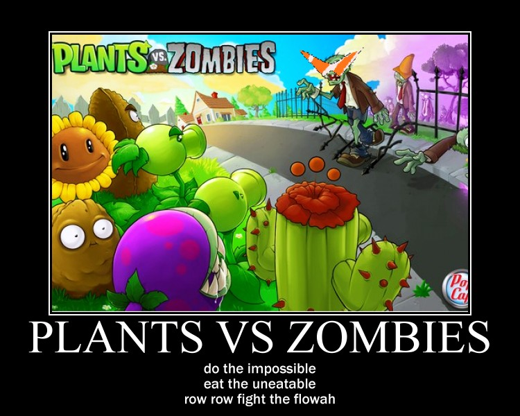 Plants vs Zombies by Scythewielder13