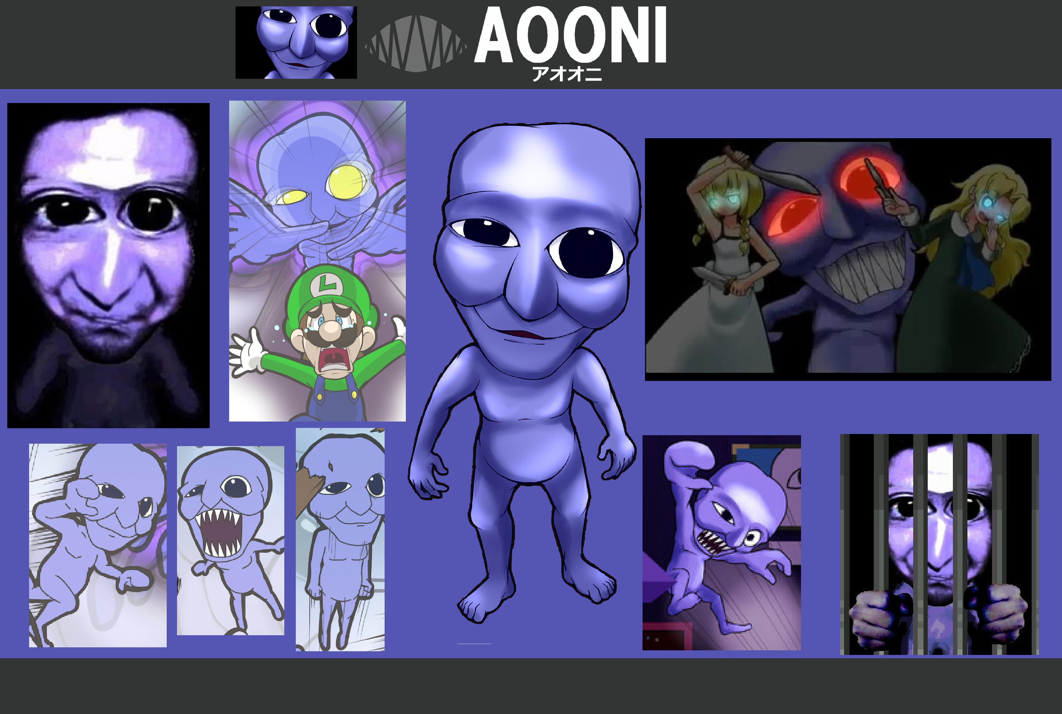 Super Smash Bros The Fears Ao Oni Wallpaper By Photographerferd On