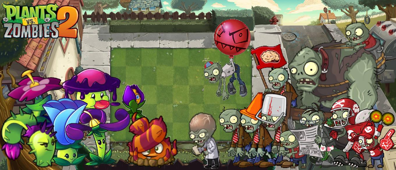 Plants vs Zombies 2 Modern Day Wallpaper by PhotographerFerd