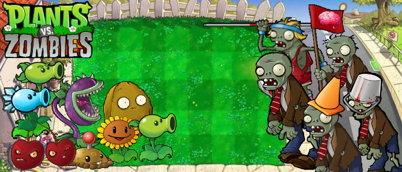 plants vs zombies day wallpaperphotographerferd on deviantart