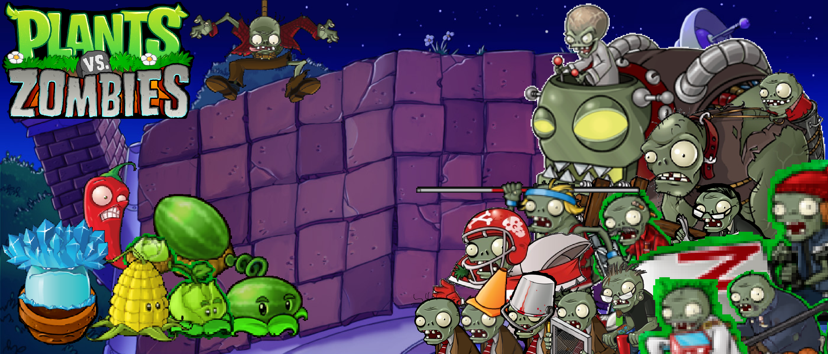 plants vs zombies dr. zomboss wallpaperphotographerferd on
