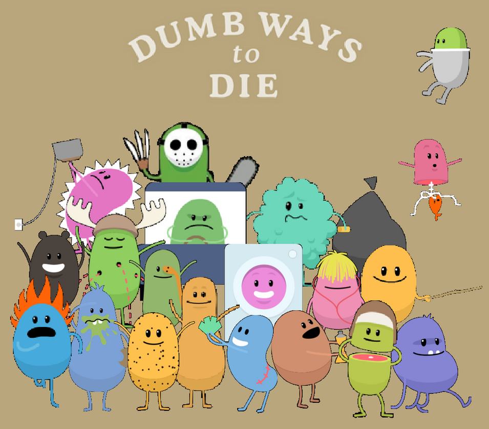 dumb ways to die Dumb ways to die was created by a small team of melburnians who are part of the bigger team that operate the train network in melbourne, metro trains melbour.
