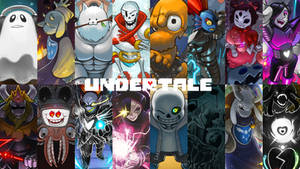 Undertale Wallpaper by PhotographerFerd