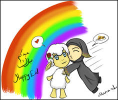 Eid AlAdhha 2011 by Mana-L