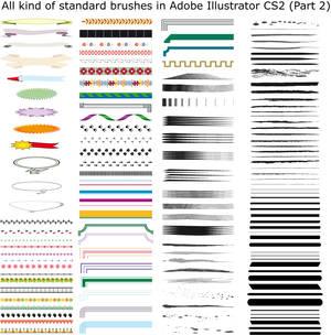 Brushes in Illustrator CS2 II