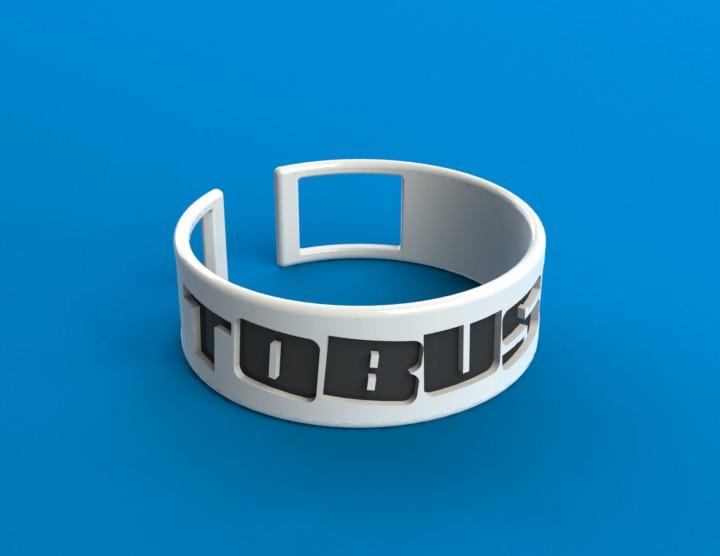 TOBUSCUS Bracelet by techgeekgirl