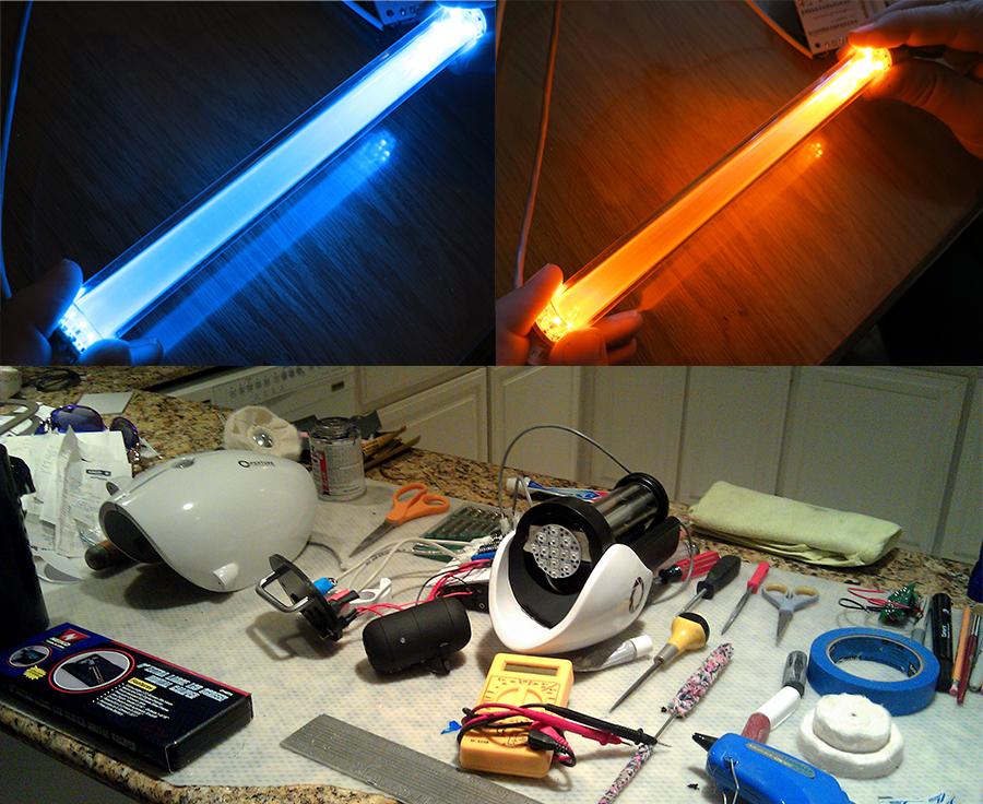 Portal Gun: Almost Done! by techgeekgirl