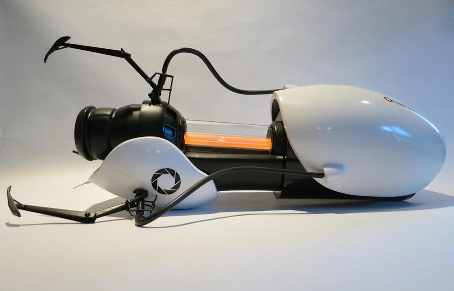 My Portal Gun - Orange! by techgeekgirl
