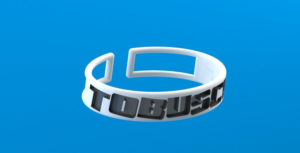 TOBUSCUS Bangle! by techgeekgirl
