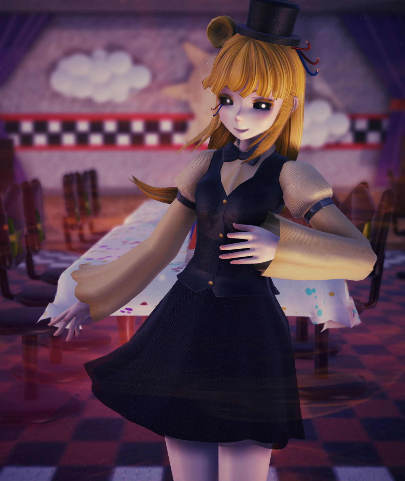 MMD] Hi There~ [FNAF] By AngelinaSchmidt On