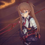 [MikuMikuDance|MMD] Asuka [Honkai Impact 3rd] by AngelinaSchmidt