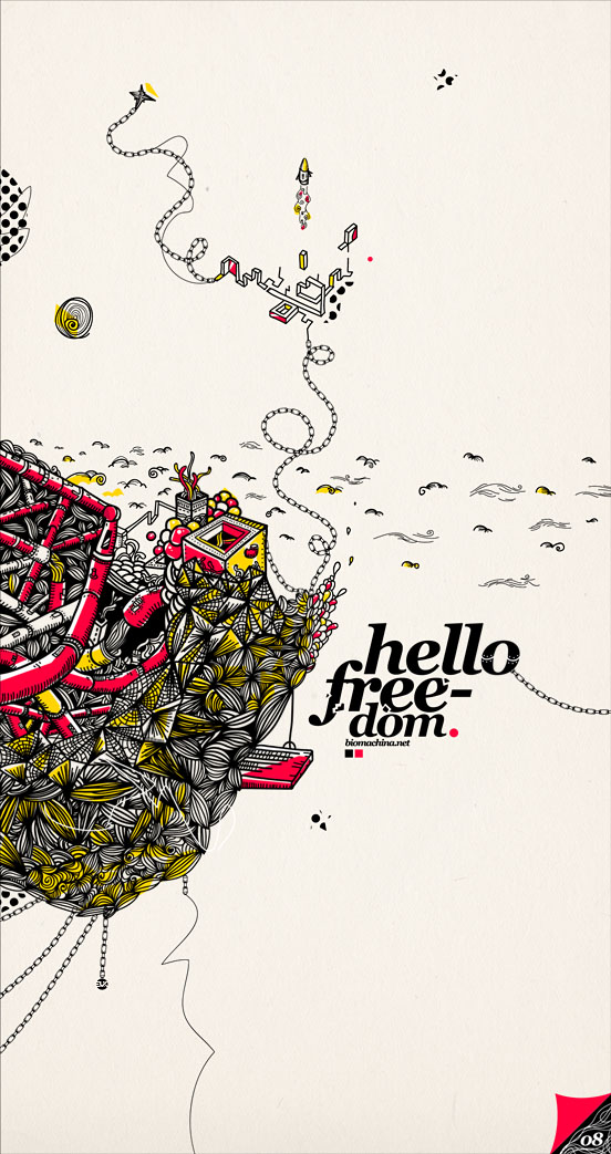 Hello Freedom by onrepeattt