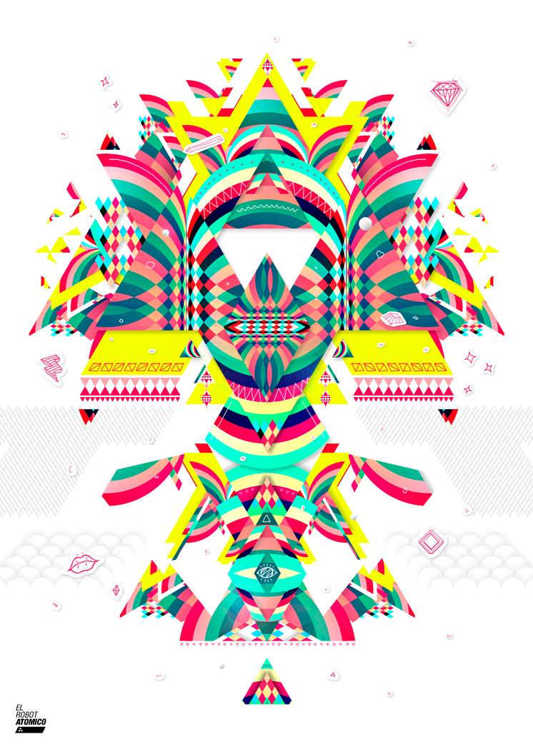 El Robot Atomico by onrepeattt
