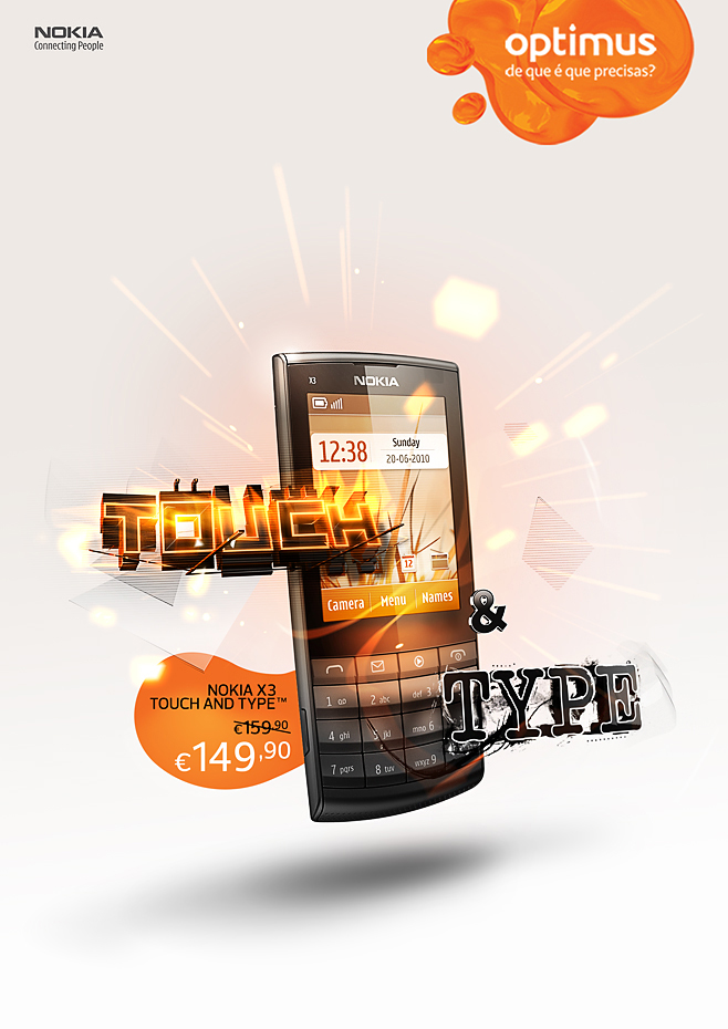 Nokia X3 by onrepeattt