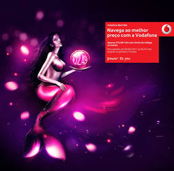 Vodafone Mermaid by onrepeattt