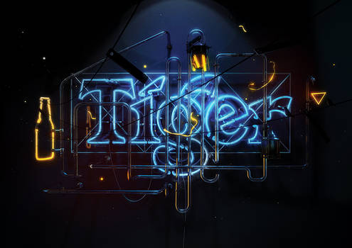 Tiger Translate Neon
