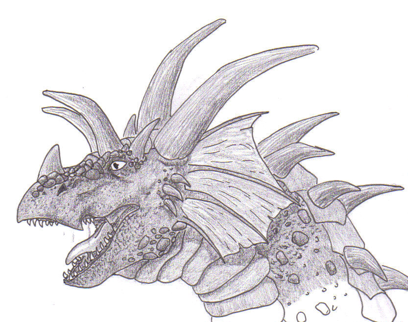 the gallery for gt pencil drawings of dragon heads