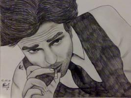 The cigarette by R.Pattz