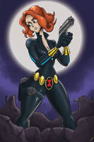 Black Widow by CentaurHillZone