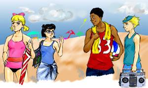 HA: Beach Gathering