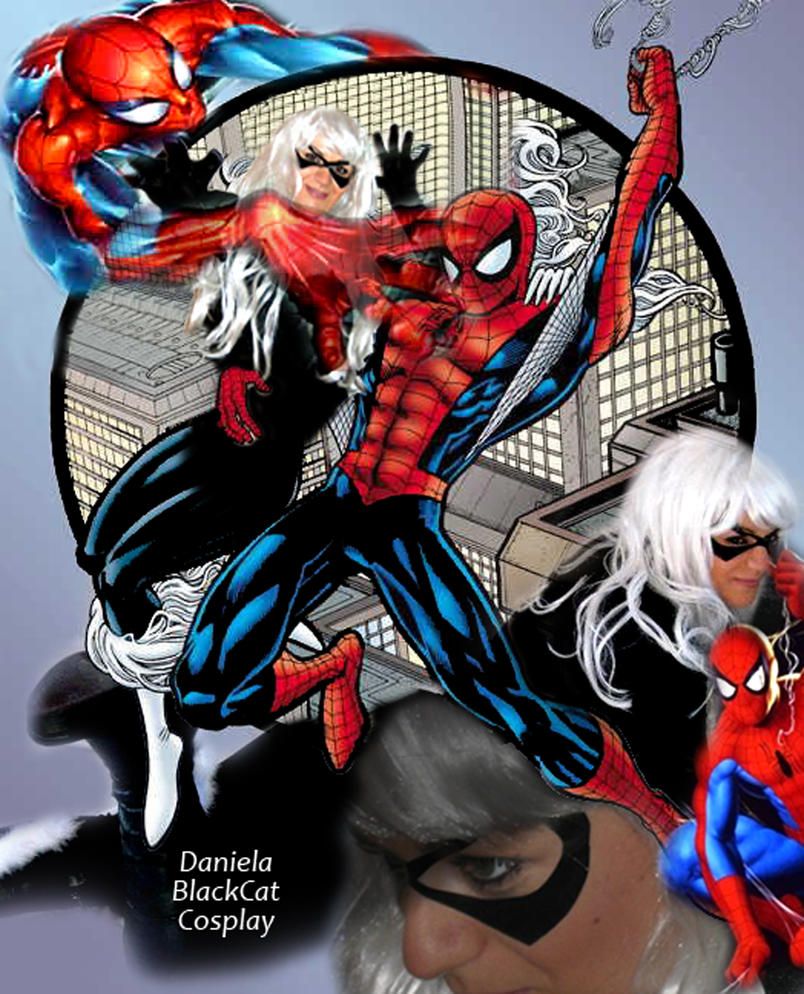 blackcat cosplay spiderman by karldart on deviantart