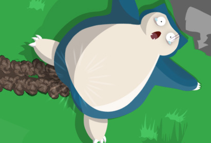 Waking Snorlax up by MGH-Mad-Gamer