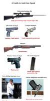 Anti-gun speak checklist