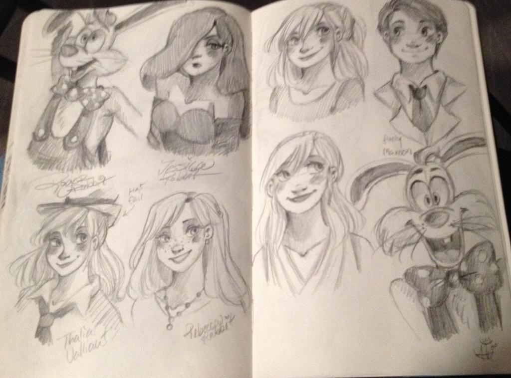 Who Framed Roger Rabbit Sketches! WOOT! by princessofDisney27 on ...