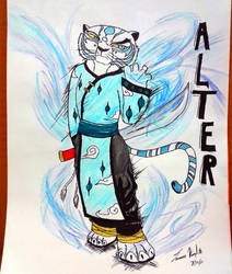 Alter Tigress (Kung Fu Panda) by ShadowStarr1