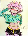 Mina Ashido 01 (My Hero Academia) by ShadowStarr1