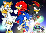 Sonic and the power holders: some heroes