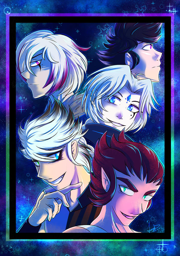 Star Male characters! by FANTASY-WORKS-JMBD