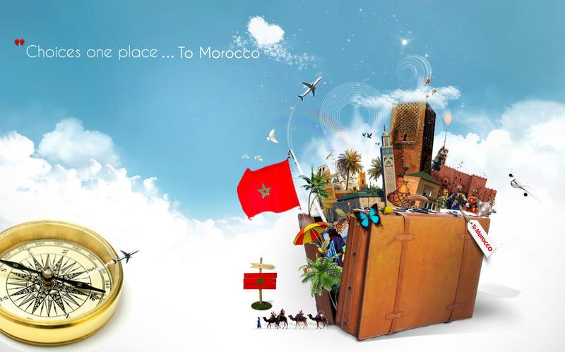 Creative Advertising MOROCCO Travel By Benbachir1991