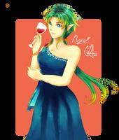 Symphoria Ball Raffle prize - Nayra by usanyuu