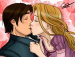 Rapunzel x Flynn