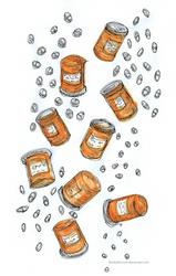 'Bottle' Day 18 Inktober (Merle's Meds)