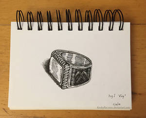 Inktober prompt 1 - Ring