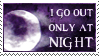 Stamp: Only at Night