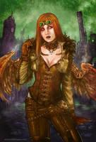 Steam-Angel by Esther-Sanz