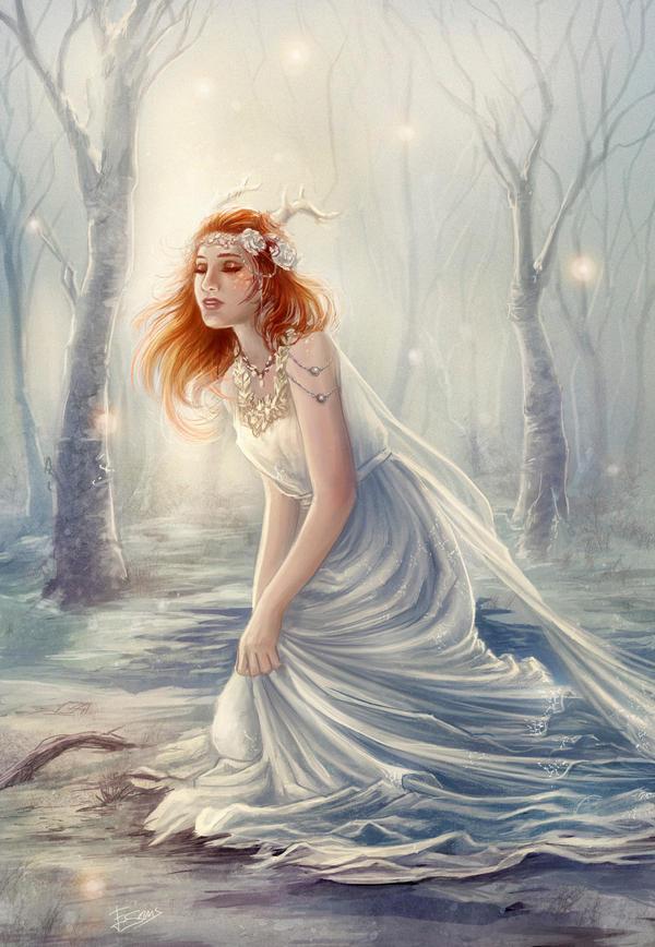 Deer princess by Esther-Sanz