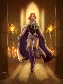 Faria, elf cleric
