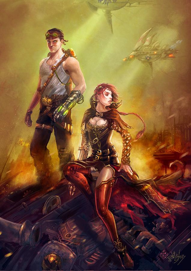 Conquerors by Esther-Sanz