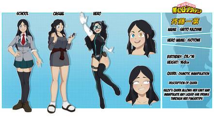 Saito Kazuha Character Sheet