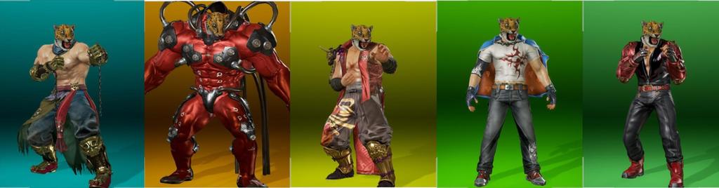 Tekken 7 Mod We Are All King By Cesarfc01 On Deviantart