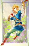 Wii-U Link by kura-ou