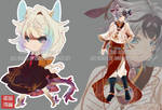 ADOPTABLE SET_ACANTI + MEIWU XING VI [CLOSED] by kura-ou