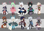 2015_AUGUST CHIBI ADOPTABLE BATCH 1/10 [OPEN]