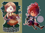 2016_CHIBI COMM set I by kura-ou
