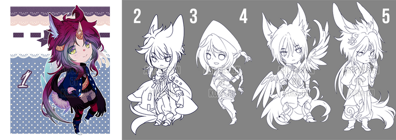 BASELESS CHIBI ADOPTS FOR BILLS [OPEN 2/5] /STATUS