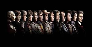 The Doctors' Lineup (with Peter Capaldi) by inbirdculture